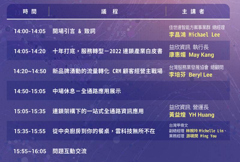 台灣服協2021年10月高峰充電會〡2022連鎖產業發展大趨勢 你必須知道的10件事